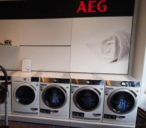 AEG wassen en drogen
