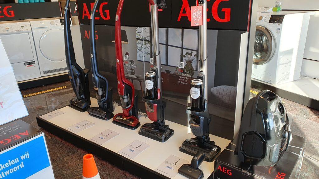 AEG floor care