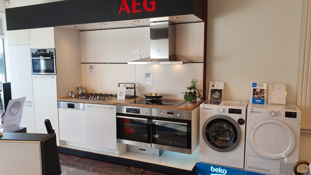 AEG inbouw apparatuur